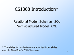 CS206 --- Electronic Commerce