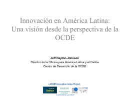 LATAM Innovation Index: Part of the Methodology