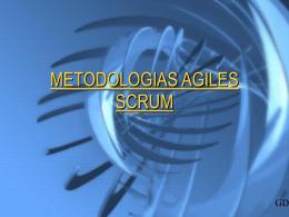 METODOLOGIAS AGILES SCRUM