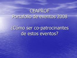 Nombre de la Jornada fecha - Ceaprof