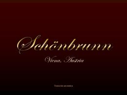 Schonbrunn, Viena
