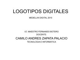 LOGOTIPOS DIGITALES