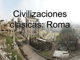 Civilizaciones clasicas: Roma