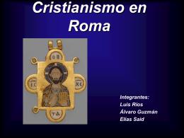 Cristianismo en Roma - Patricio Alvarez Silva