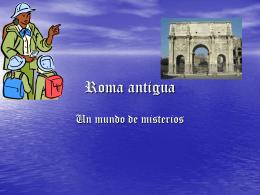 Roma antigua - camlaserena