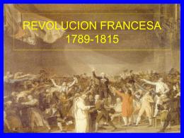REVOLUCION FRANCESA 1789-1815