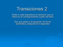 Transiciones 2