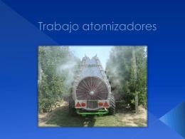 """Trabajo atomizadores - Grado Medio. EFA """"El Salto"""" (Zuera"""
