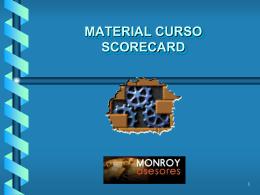 MATERIAL CURSO BALANCED SCORE CARD