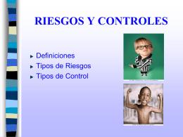 RIESGOS Y CONTROLES