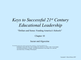 Issues in Educational Leadership
