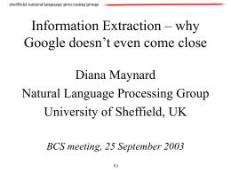 Multisource and Multilingual Information Extraction