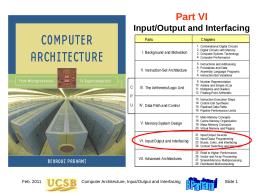 Computer Architecture, Part 6