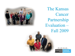 Kansas Comprehensive Cancer Control and Prevention Plan