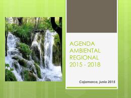 AGENDA AMBIENTAL REGIONAL 2015