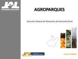 Esquema Organizacional del Agroparque