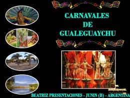CARNAVAL DE GUALEGUAYCHU-