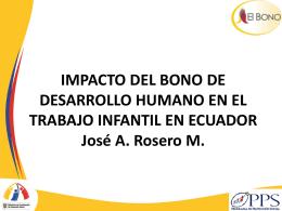 IMPACTO DEL BONO DE DESARROLLO HUMANO EN EL …