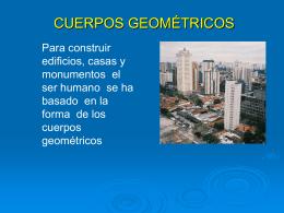 CUERPOS GEOMETRICOS - docenciaandrea.wordPress.com
