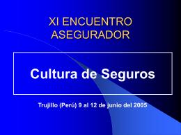 XI ENCUENTRO ASEGURADOR