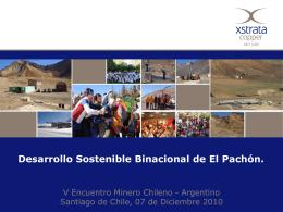 Diapositiva 1 - CAMARA CHILENO ARGENTINA DE …