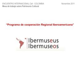 IV SEMINARIO INTERNACIONAL 'CULTURA Y …