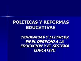 MARCO NORMATIVO DE LA EDUCACION ARGENTINA
