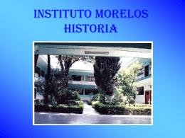 INSTITUTO MORELOS - Fundacion Plancarte y Labastida IAP