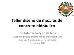 Taller Concreto