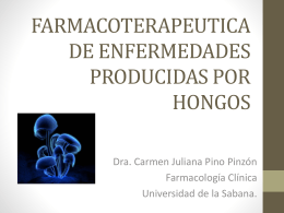 FARMACOTERAPEUTICA DE ENFERMEDADES …