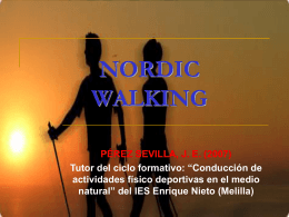 NORDIC WALKING - BLOG de Pepeinef | Blog del profesor …