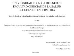 UNIVERSIDAD TECNICA DEL NORTE FACULTAD CIENCIAS …