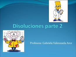 Disoluciones parte 2