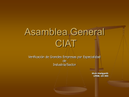 CIAT General Assembly