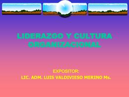 CULTURA ORGANIZACIONAL Y DESARROLLO DE LA …