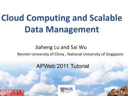 虚拟化与云计算 - Lu Jiaheng's homepage