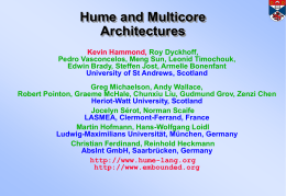 Hume and Multicore
