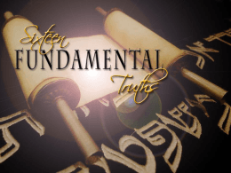 Sixteen Fundamental Truths