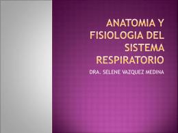 ANATOMIA Y FISIOLOGIA DEL SISTEMA REPIRATORIO