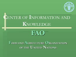 FAO - Michigan State University