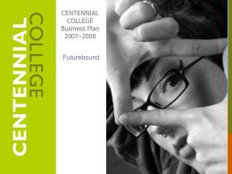 Business Plan [PDF] - Centennial College