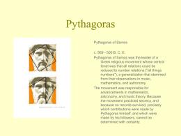 Pythagoras - 2July