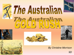 The gold rush - WordPress.com