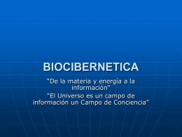 BIOCIBERNETICA APLICADA A LA HOMOTOXICOLOGIA Y …