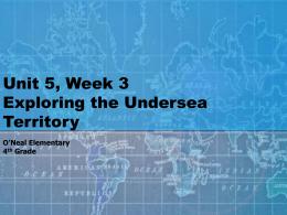 Unit 5, Week 3