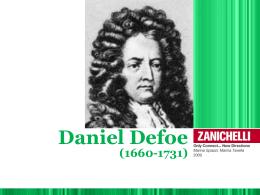 17. DANIEL DEFOE
