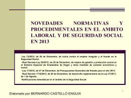 Real Decreto-Ley 13/2012, de 26 de Diciembre, de lucha
