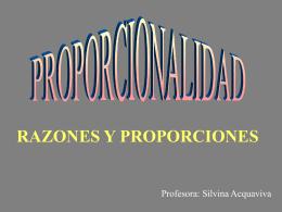 PROPORCIONALIDAD
