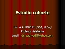COHORT STUDY - Home - Bibliotheca Alexandrina