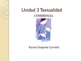 Unidad 3 Textualidad